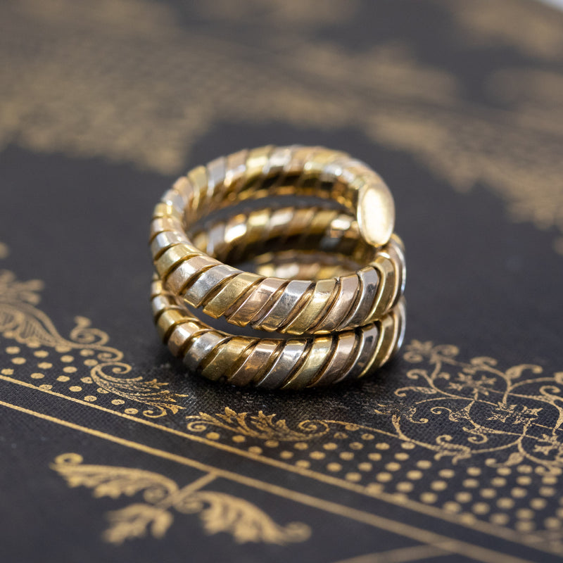 "Bvlgari ""Serpenti Tubogas"" Gold Ring"
