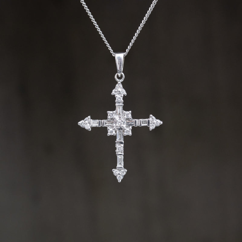.49ctw Diamond Cross Pendant