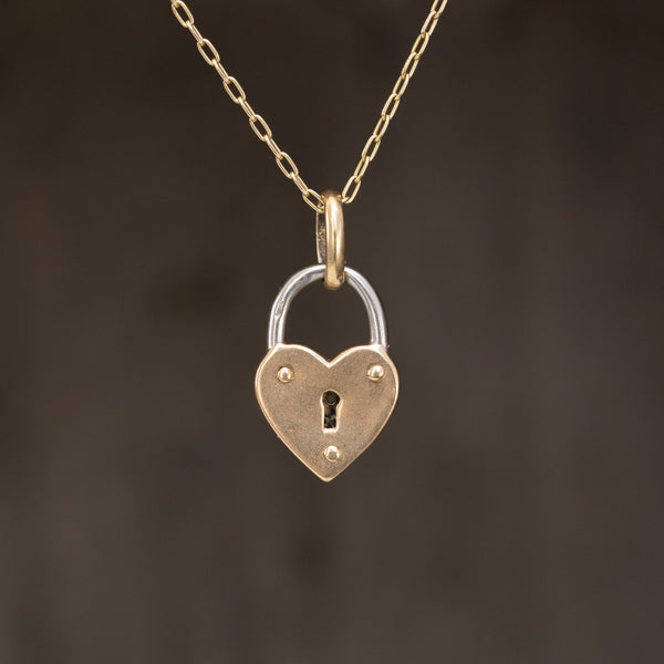 Vintage French Heart Locket