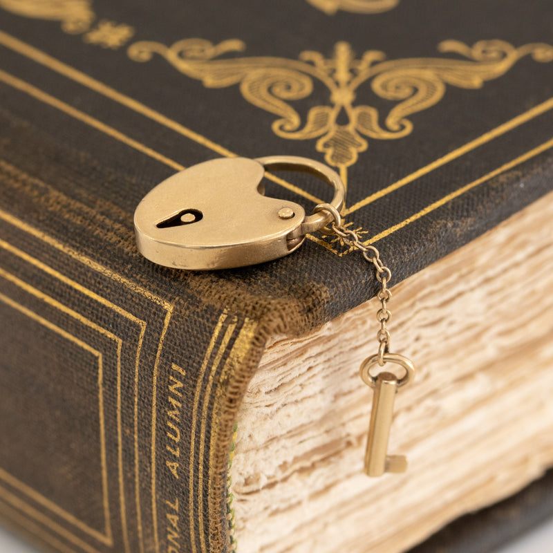Heart Locket & Key