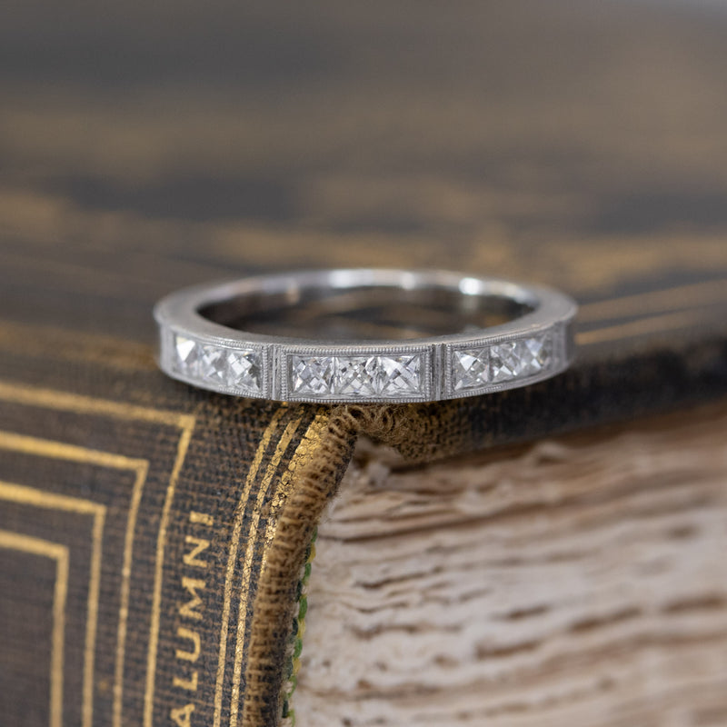 Isabella Platinum Wedding Band Ring