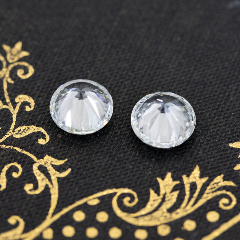 2.34ctw Round Brilliant Diamond Pair, GIA EX EX EX