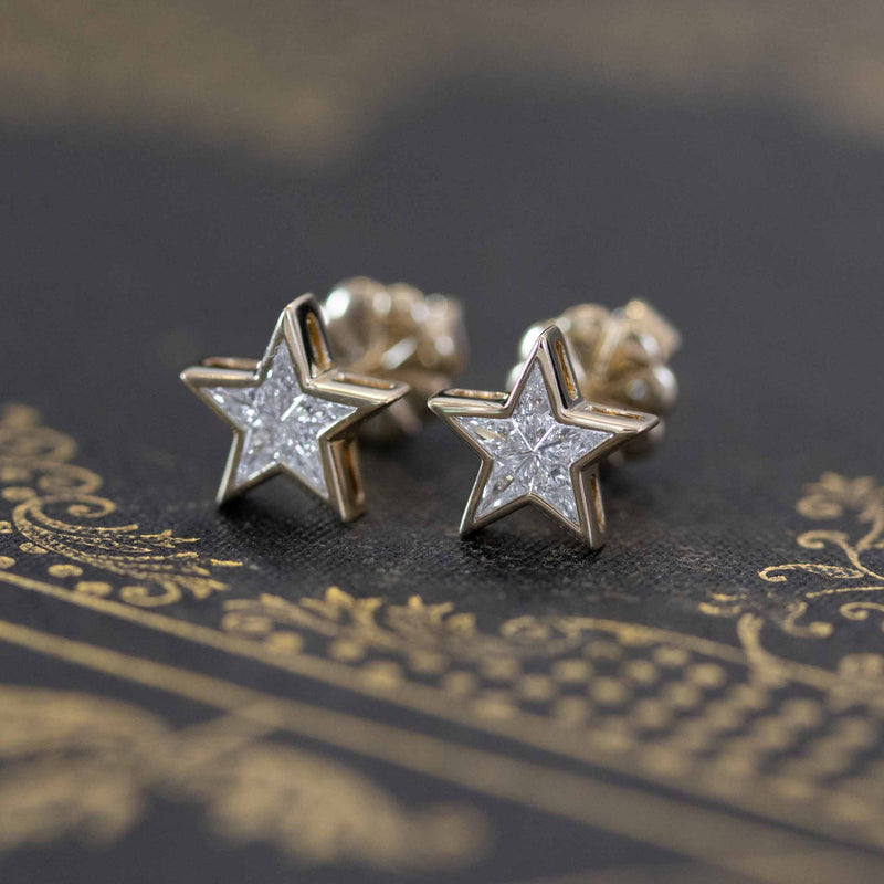 Star Mosaic Stud Earrings
