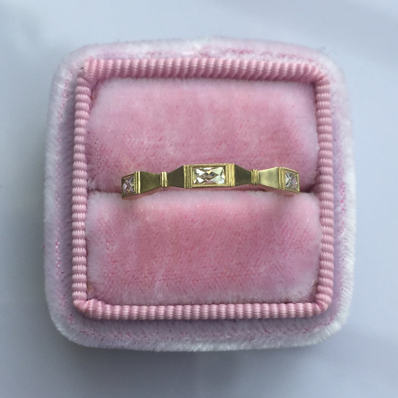 Liv Wedding Band Ring, by Erika Winters