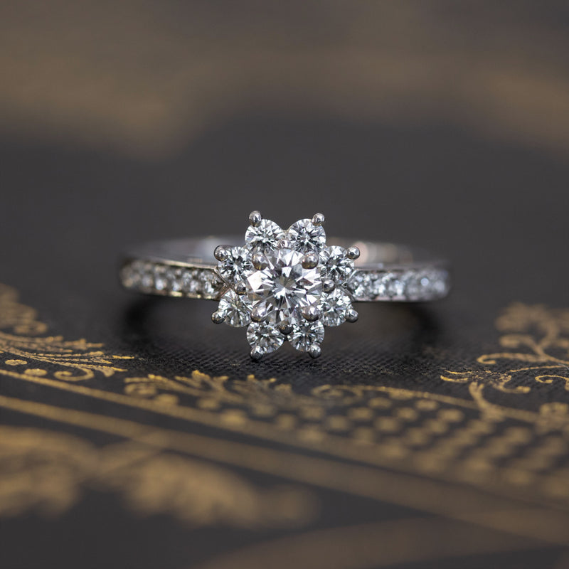 Diamond Cluster Ring, Tiffany & Co. Ring