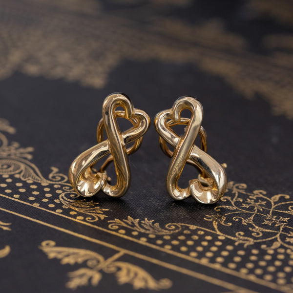 Tiffany & Co. Double Loving Hearts Earrings, by Paloma Picasso