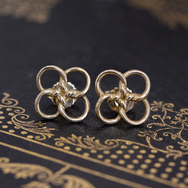 Tiffany & Co. Quadrifoglio Earrings, by Elsa Peretti