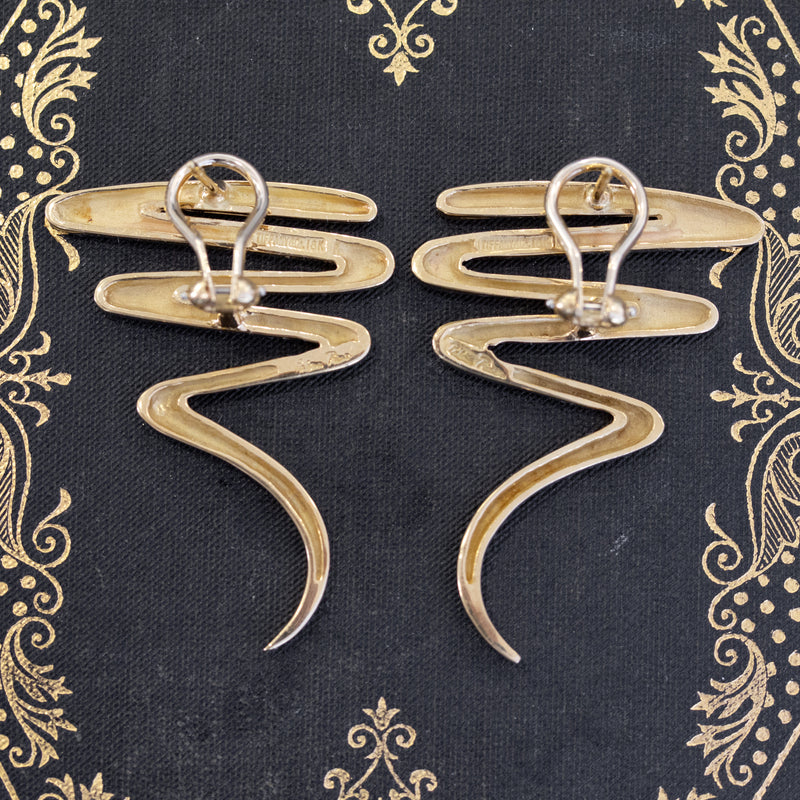 Tiffany & Co. Zig-Zag Earrings, by Paloma Picasso