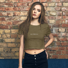 Load image into Gallery viewer, Women's Wu Prevail Crop Tee