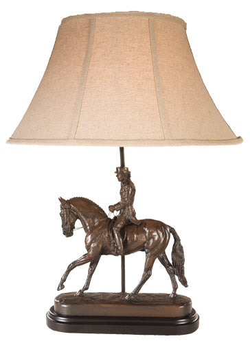 Dressage Lady  Table Lamp