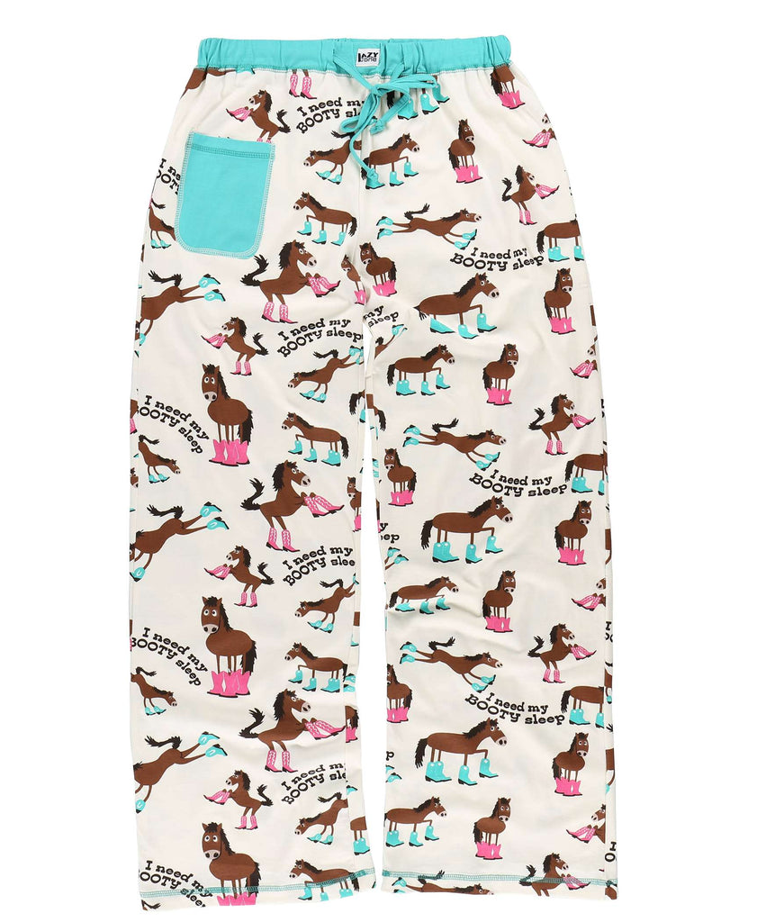 Need Booty Sleep Women's Horse Fitted Pant