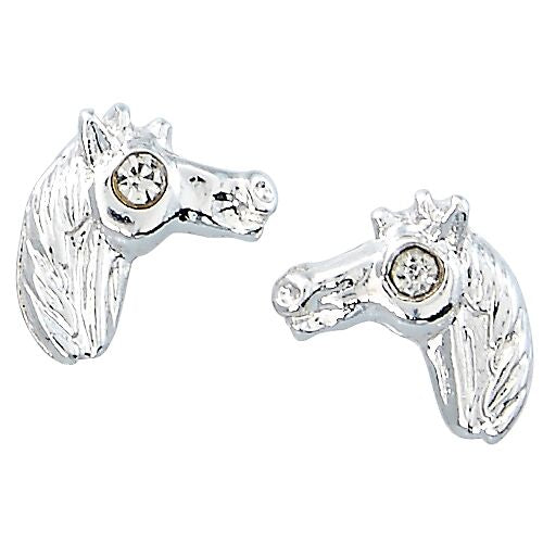 Horse Head Earrings  Boxed Jewellery ,