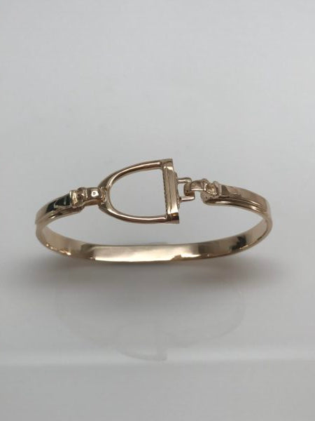 Stirrup Bangle 14k