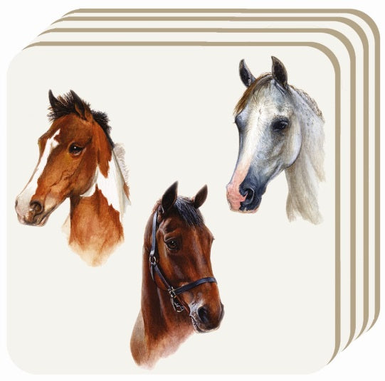 Horse Portrait Coaster