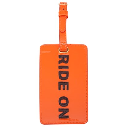 Ride On Luggage Tag