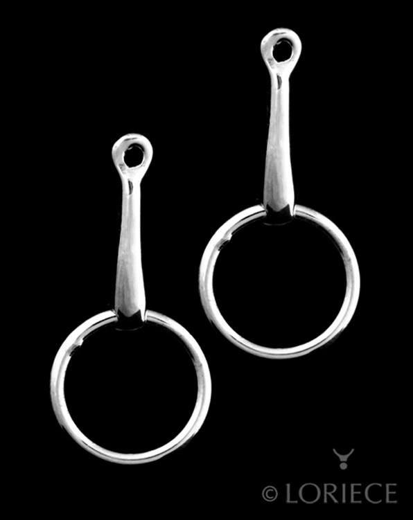 Equestrian Loose Ring Earrings
