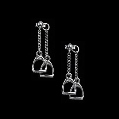 English Stirrup Set Earrings