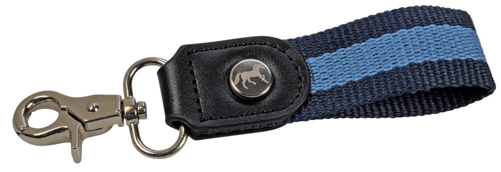 Leather Horse Key Ring