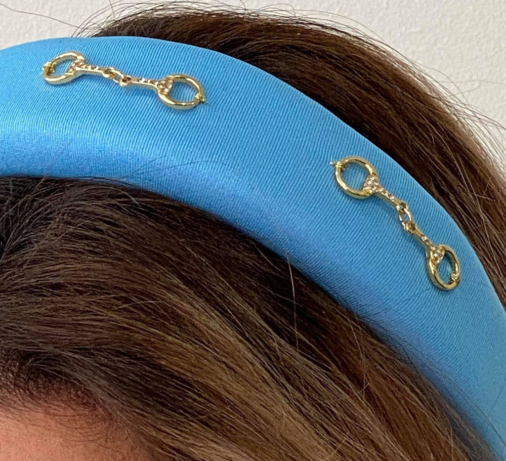 Padded Headband - Light Blue