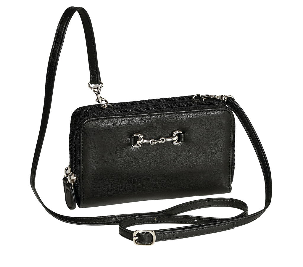 Snaffle Bit Wallet Cross Body Bag