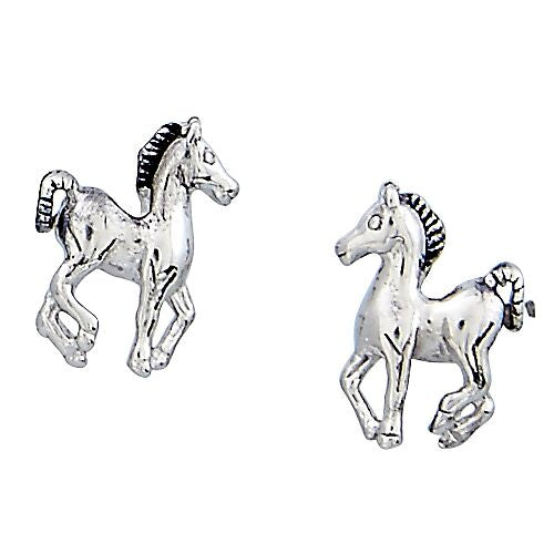 Prancing Pony  Earrings  ,Boxed Jewellery