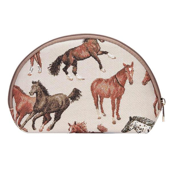 Cosmetic Bag , Running Horse