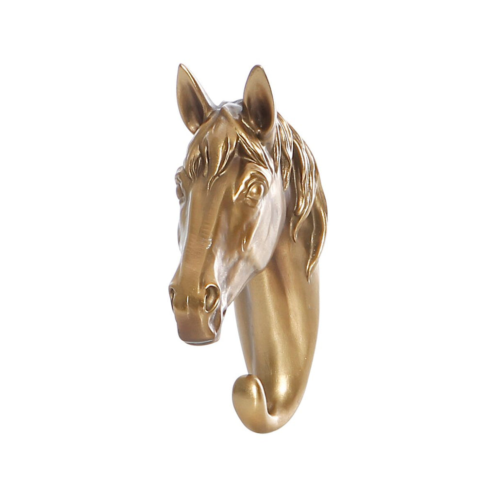 Bronze Horse Head Hook