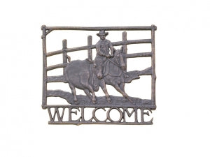 Campdrafting Welcome Sign