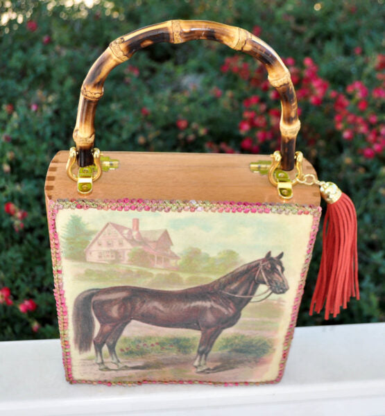 "The ""Churchill Derby"" Clutch"