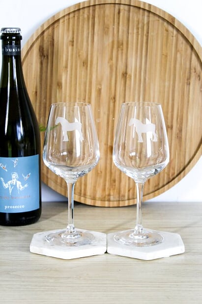 Clydesdale  Wine Glasses