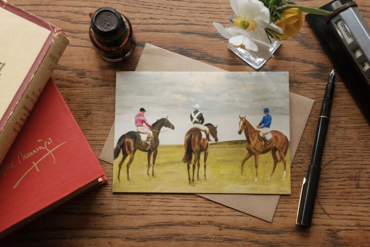 Note Card  - At The Half mile