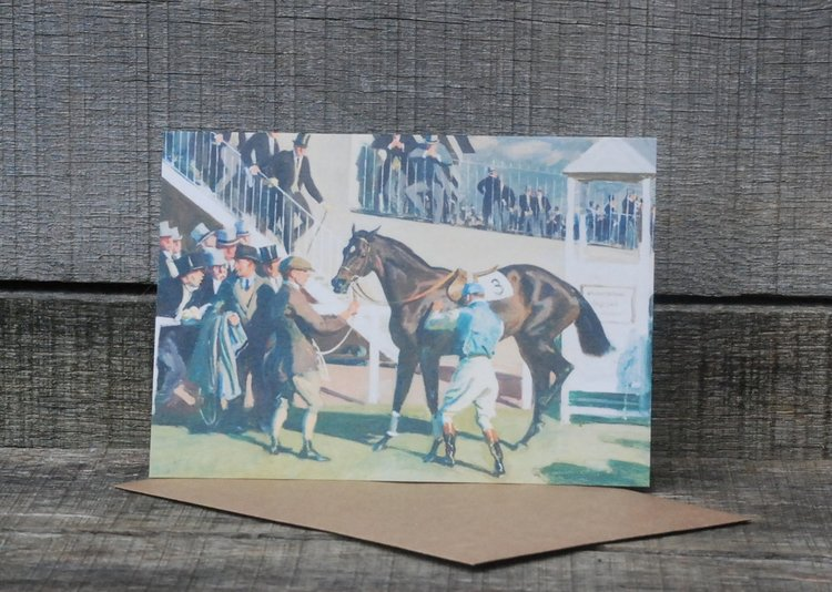 Note Card  - The Unsaddling Enclosure