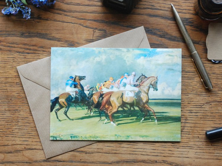 Note Card  - Under Starters Orders
