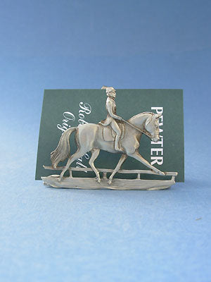 Dressage Business Card Holder