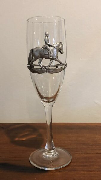 Dressage Champagne Glass