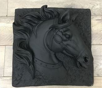 Holly Horse Wall Art
