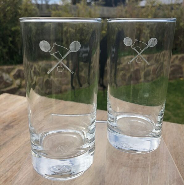 Polo Cross Hi Ball Glasses