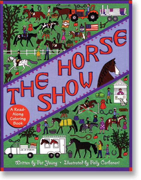 The Horse Show Colouring Book