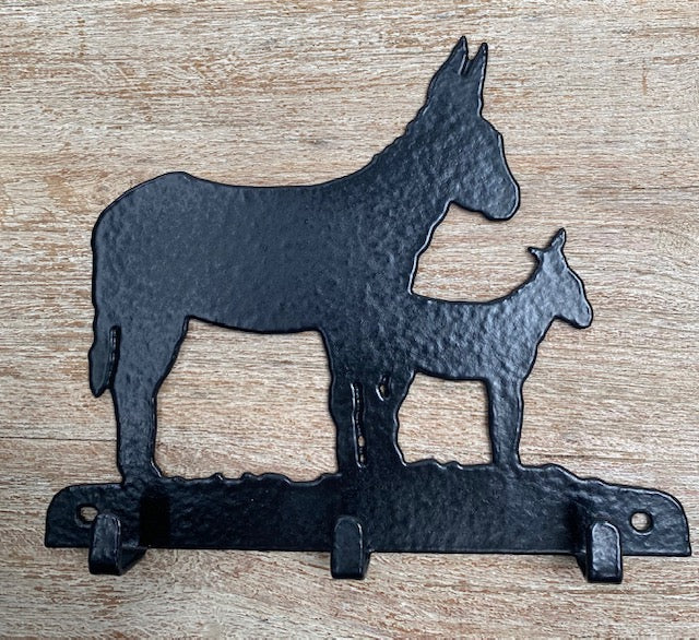 Donkey 3 Hook Key Rack