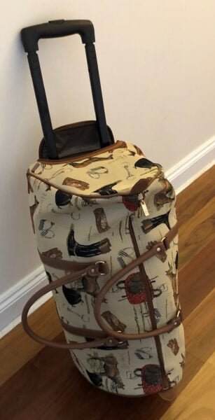 Horse Design Trolley Bag