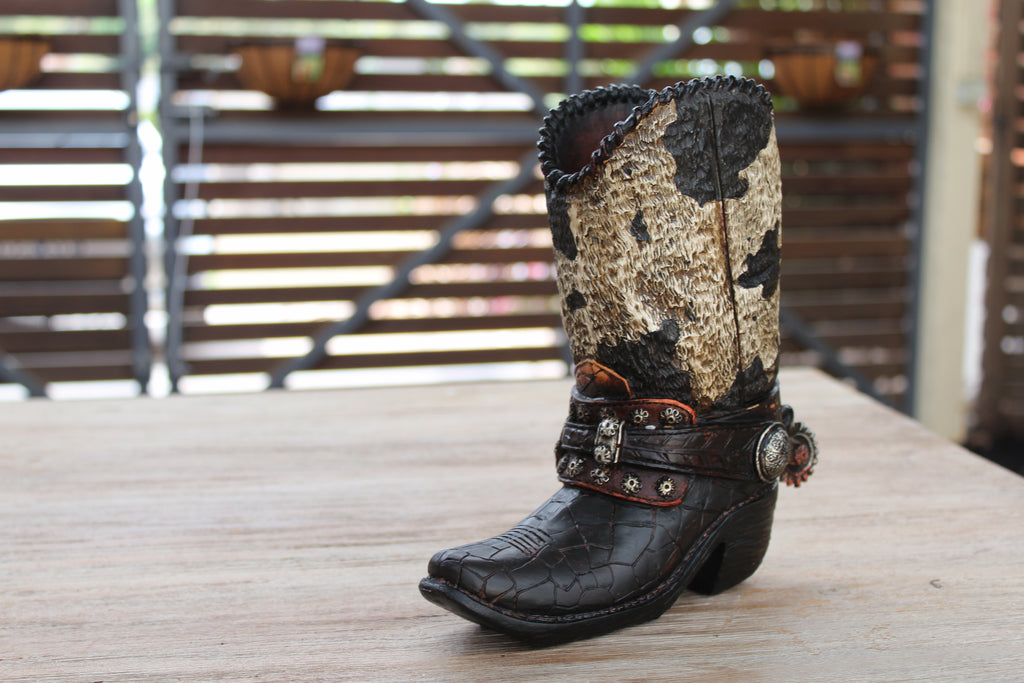 Cowboy Boot Money Box