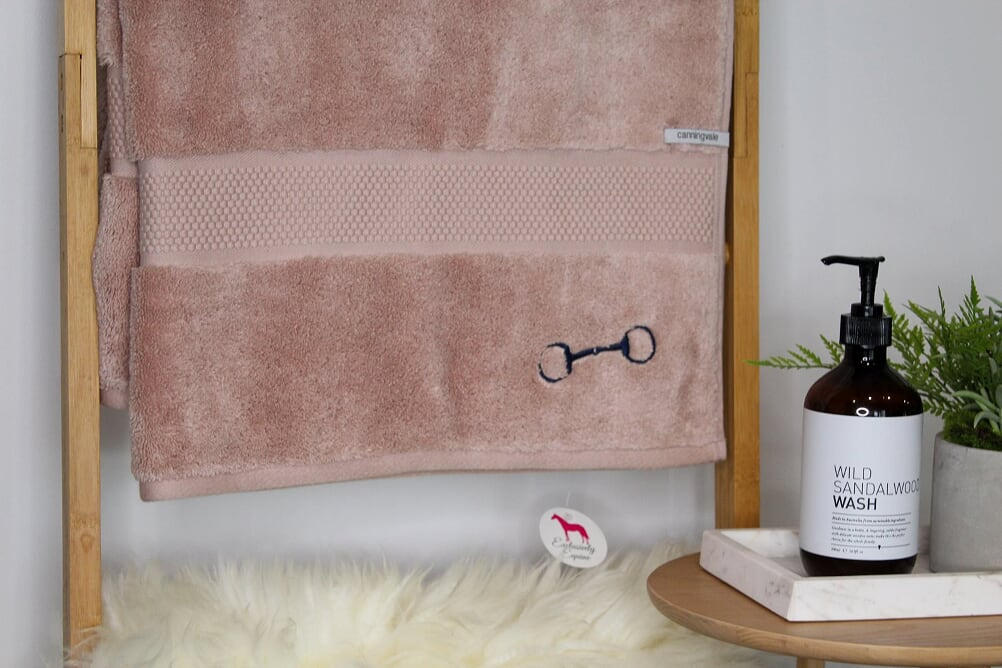 Dusty Rose Bath Sheet