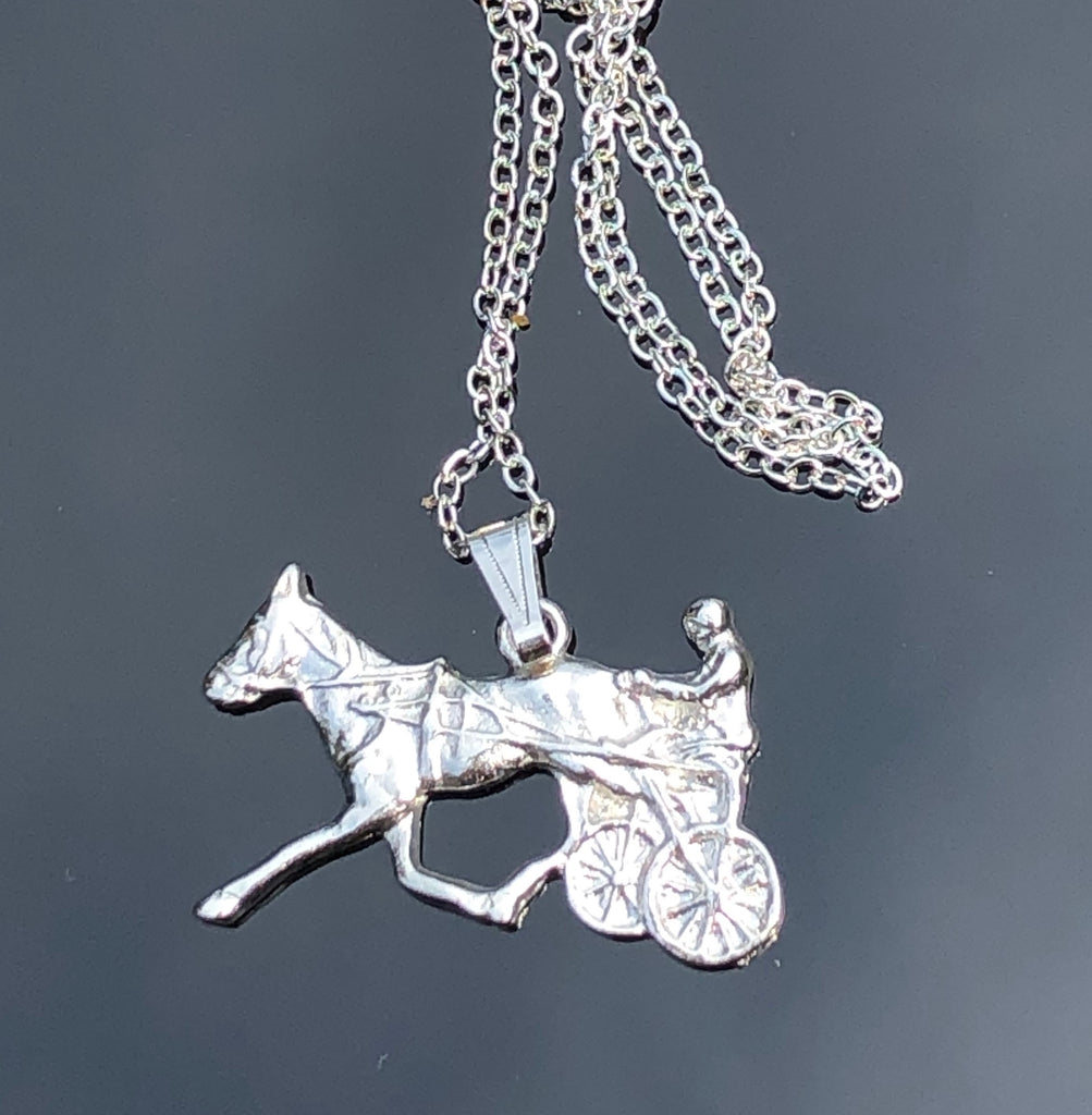Racing Standardbred  Necklace