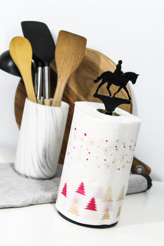 Custom Equine Paper Towel Roll Holder