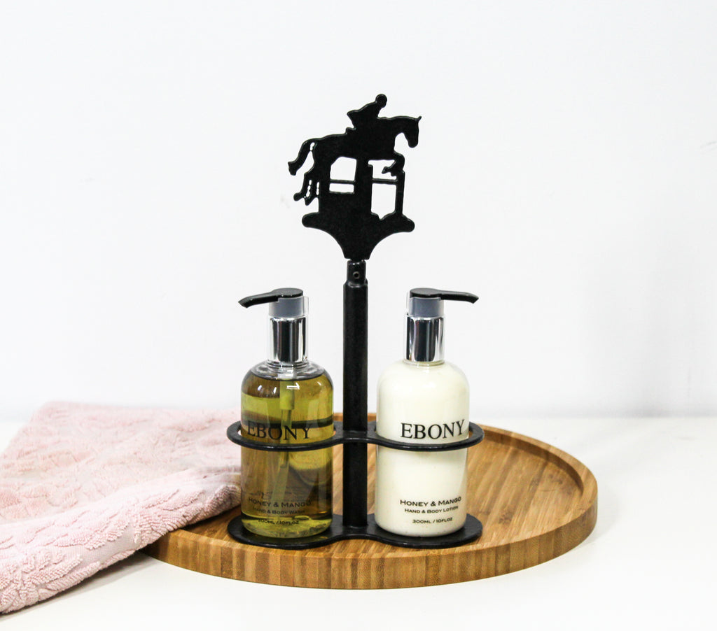 Custom Equine Hand Soap & Lotion Stand