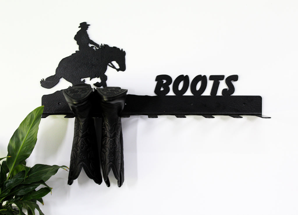Custom Equine Boot Rack Holder