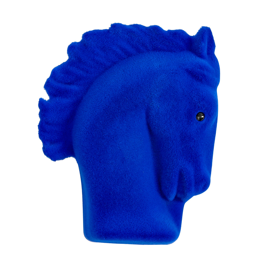 Blue Horse Necklace in Gift Box