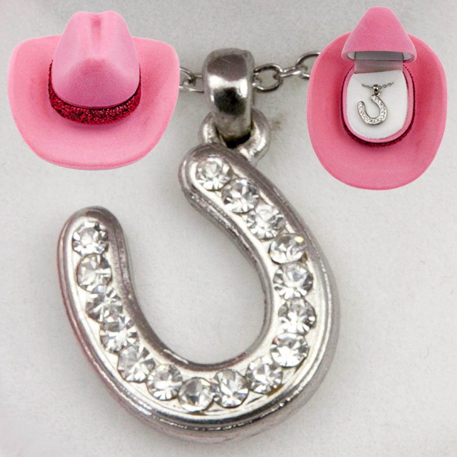 Gift Boxed Horse Shoe Necklace