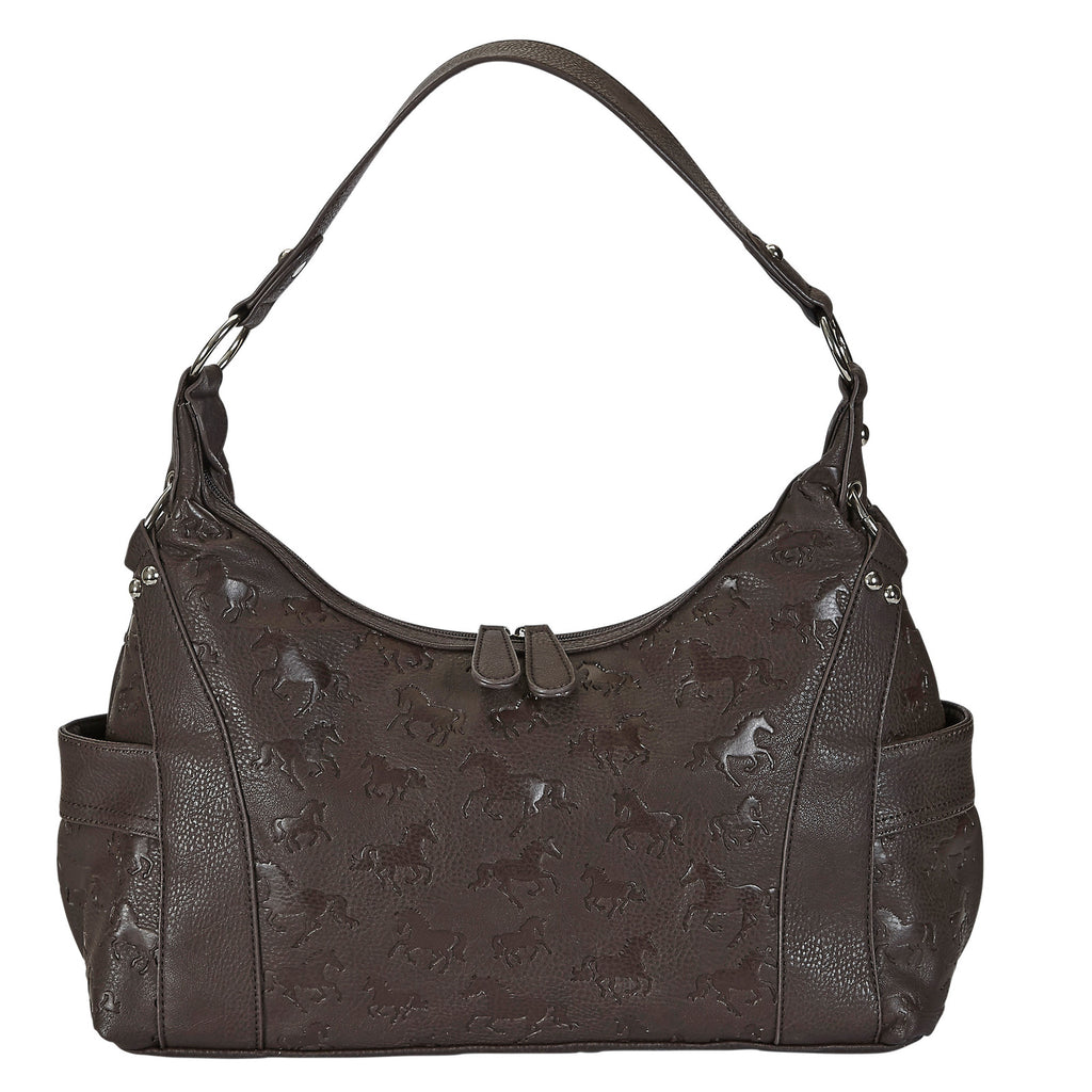 Embossed Hobo Bag