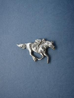 Jockey Lapel Pin